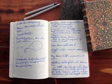 Für Menschen die gern schreiben